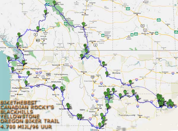 Canadian Rockies & VS trails