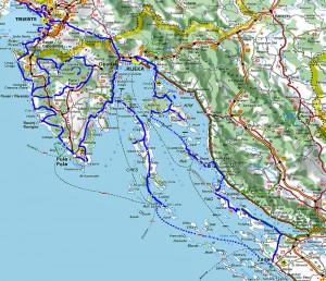 Istrie en Dalmatie