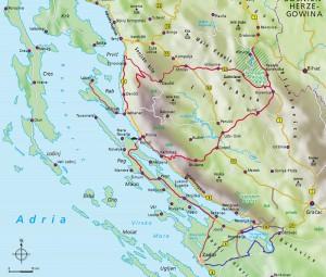 Dalmatie Krka en Plitvice