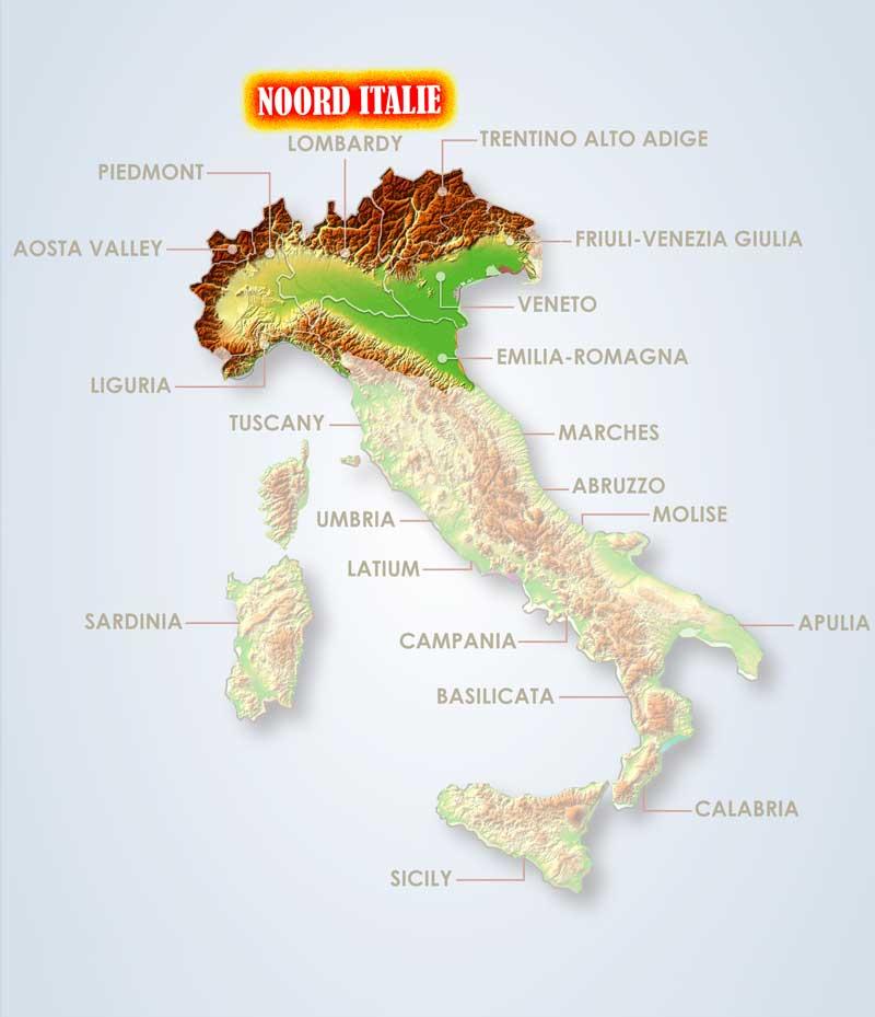 Italië  motorreizen